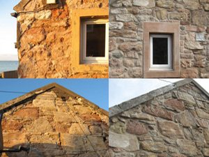 Stonemason Edinburgh Restored Sandstone Cottage In East Lothian