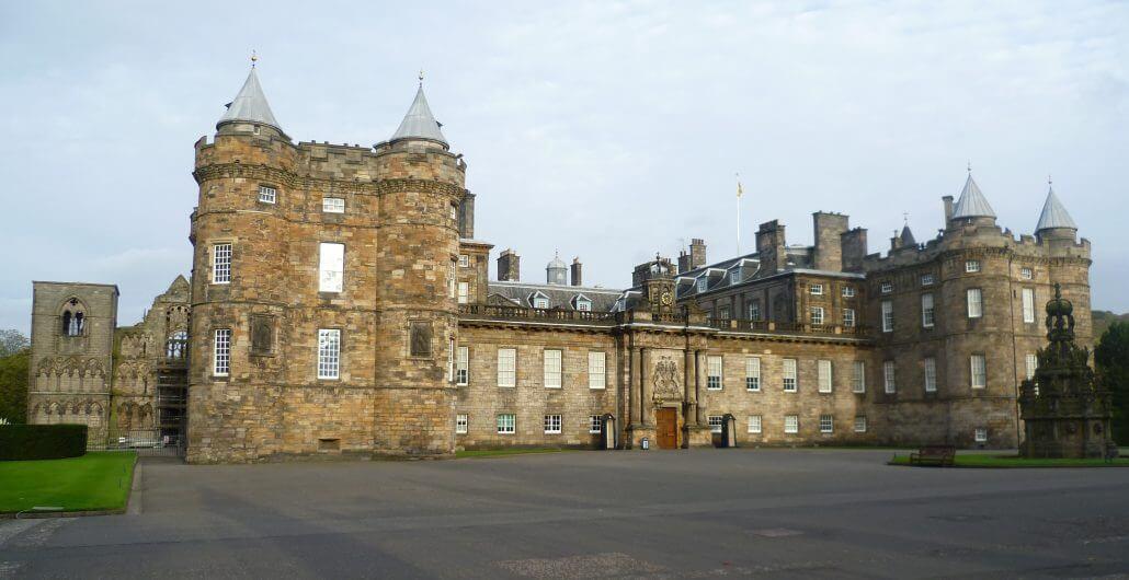 Palace Of Holyroodhouse,Edinburgh - Perfect Example Of Stonemasonry