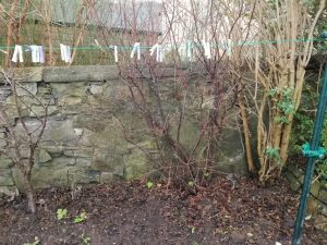 Old Edinburgh Wall Gets New Lease Of Life